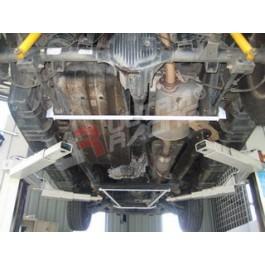 SsangYong Rexton 06-10 UltraRacing 2-Point Rear Lower Tiebar