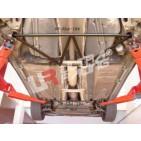 Volvo S60/S80/V70 UltraRacing 4-Point Front Lower Brace
