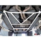 VW Touareg 02+ UltraRacing 4-Point Mid Lower Brace 1198