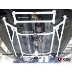 Nissan X Trail 2.0 08+ UltraRacing 2x 3-Point Floor Bars