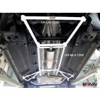 Chevrolet Cruze 08+ 1.6 UltraRacing 4-Point Mid Lower Brace