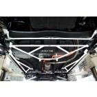 Honda CRZ 10+ UltraRacing 2x 3-Point Side Floor Bars 1572