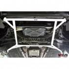 Jaguar XK8 4.0 98+ UltraRacing 4-Point Front Lower H-Brace