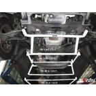 Hyundai H1 07+ 2.5D UltraRacing 4-Point Front H-Brace 1616
