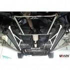 Nissan Cefiro 94-98 A32 UltraRacing 2-Point Mid Lower Bar