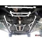 Nissan Cefiro 98-03 A33 UltraRacing 4-Point Mid Lower Bar
