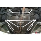 Honda Accord 90-93 UltraRacing 4-Point Mid Lower Brace