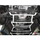 Hyundai H1 07+ 2.5D UltraRacing 4-Point Mid Lower Brace