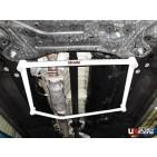 Kia Sportage 10+ 2.0 UltraRacing 4-Point Mid Lower Bar 1733
