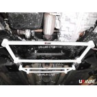 Peugeot 3008 09+ 1.6 UltraRacing 4-Point Mid Lower Brace