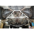 Mercedes SLK 200 04-11 2UltraRacing 4-Point Rear Lower Brace