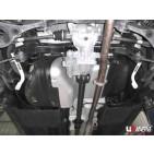 Kia Sportage 10+ 2.0/2.0D UltraRacing 2x 2P Rear Side Bars