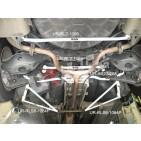 Nissan Teana 03-08 J31 UltraRacing 2x 3-Point Rear Side Bars