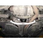 BMW X6 E71 3.0T 08+ UltraRacing 2-Point Rear Lower Tiebar