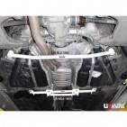 BMW 5 525 F10 10+ UltraRacing 2-Point Rear Lower Bar 1866