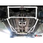 Alfa Romeo Mito 08+ UltraRacing 2x 3-Point Floor Bars
